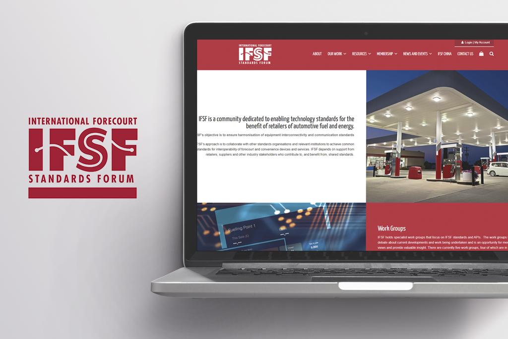 IFSF Website mockup